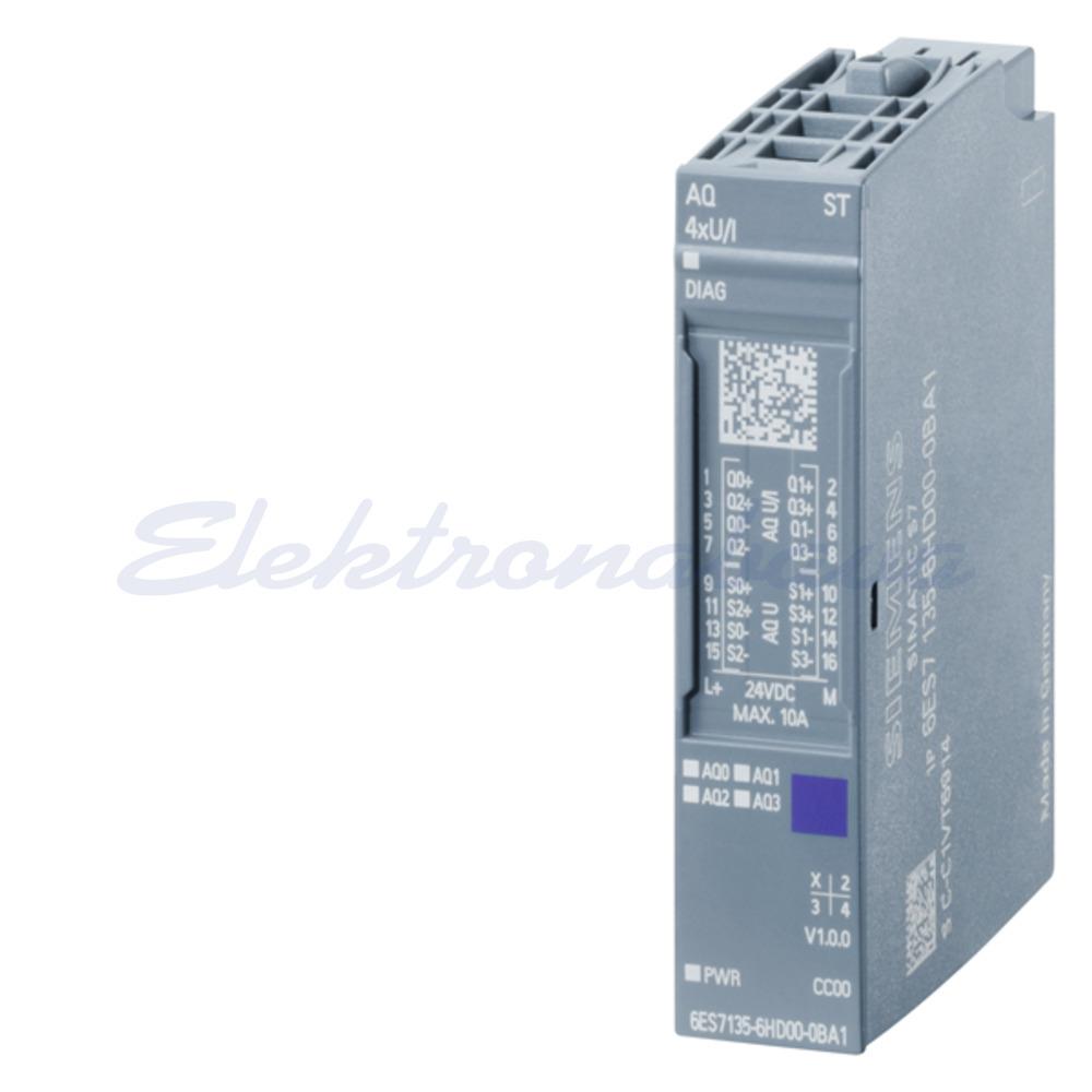 Slika izdelkaDP krmilnik - analogni modul SIMATIC ET-200 SP 4AI 4AO