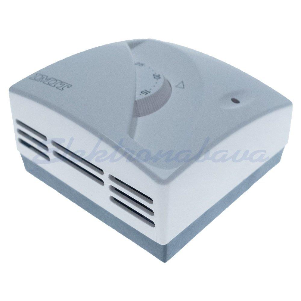 Sobni termostat IMIT z lučko N/O Z gumbom BE 5-30ST.C