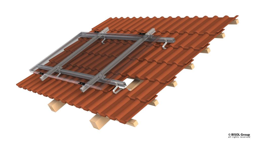 Profil za solarno konstrukcijo BISOL EasyMount 50x33mm Al 3,1m