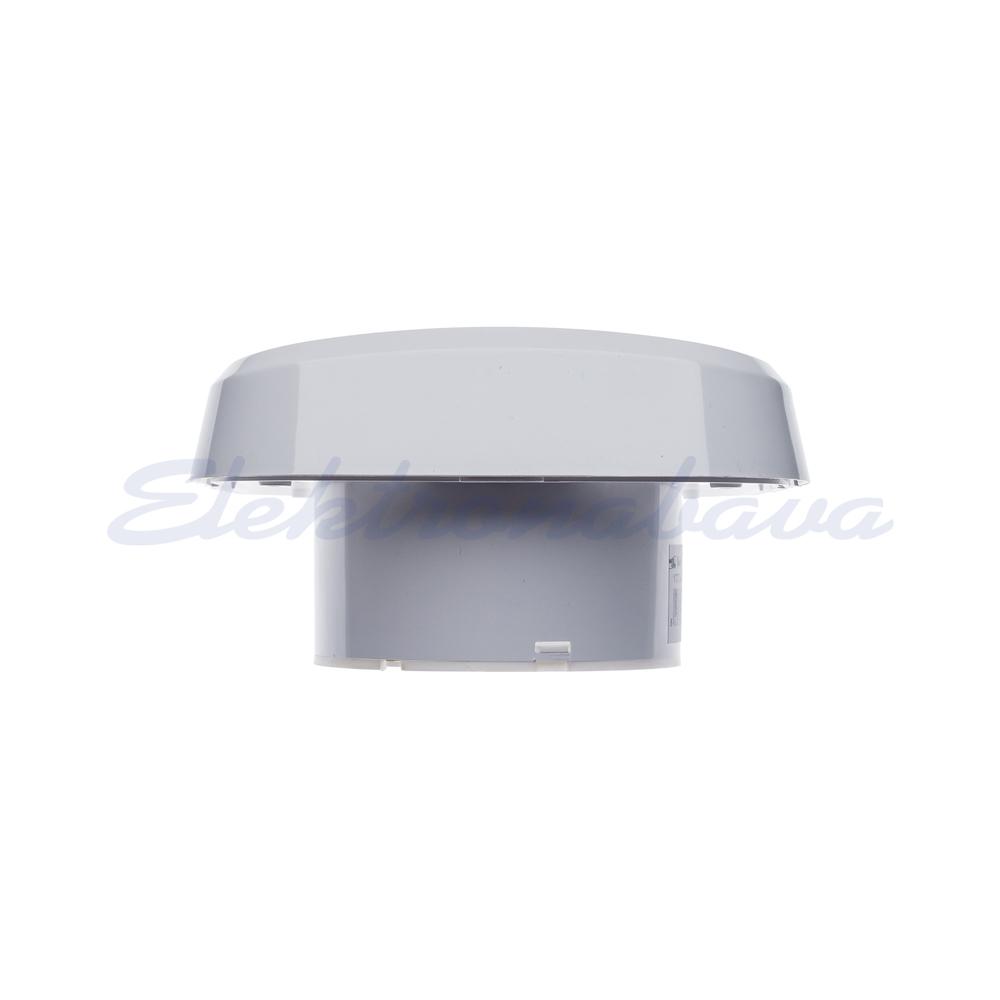 Stanovanjski ventilator MTG N cevna zapora fi100mm 230V BE IPX4 PVC 98m3/h