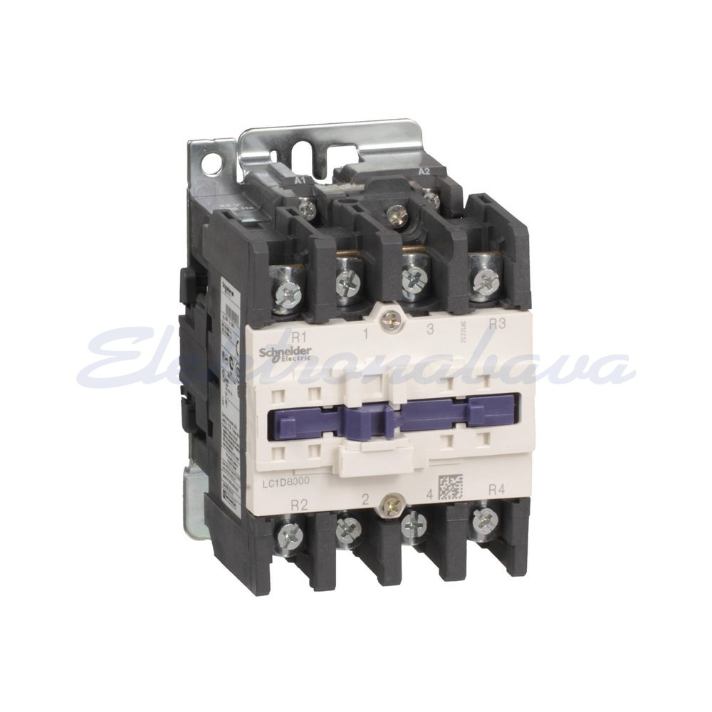 Slika izdelkaAC Kontaktor TESYS 125A 2NO/2NC AC-1 4P 37kW 24V AC