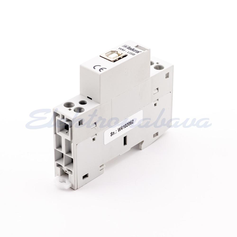 Slika izdelkaŠtevec el. energ., odštevalni ISKRA pribor WM1 USB IR vmesnik
