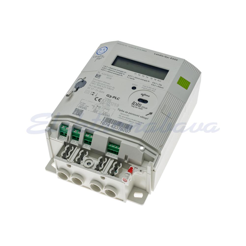 Števec električne energije ZCXi120CQU1L1D1.21S4 + G3-PLC L-N (1F) 2TAR. Z odklopnikom 230V 85A