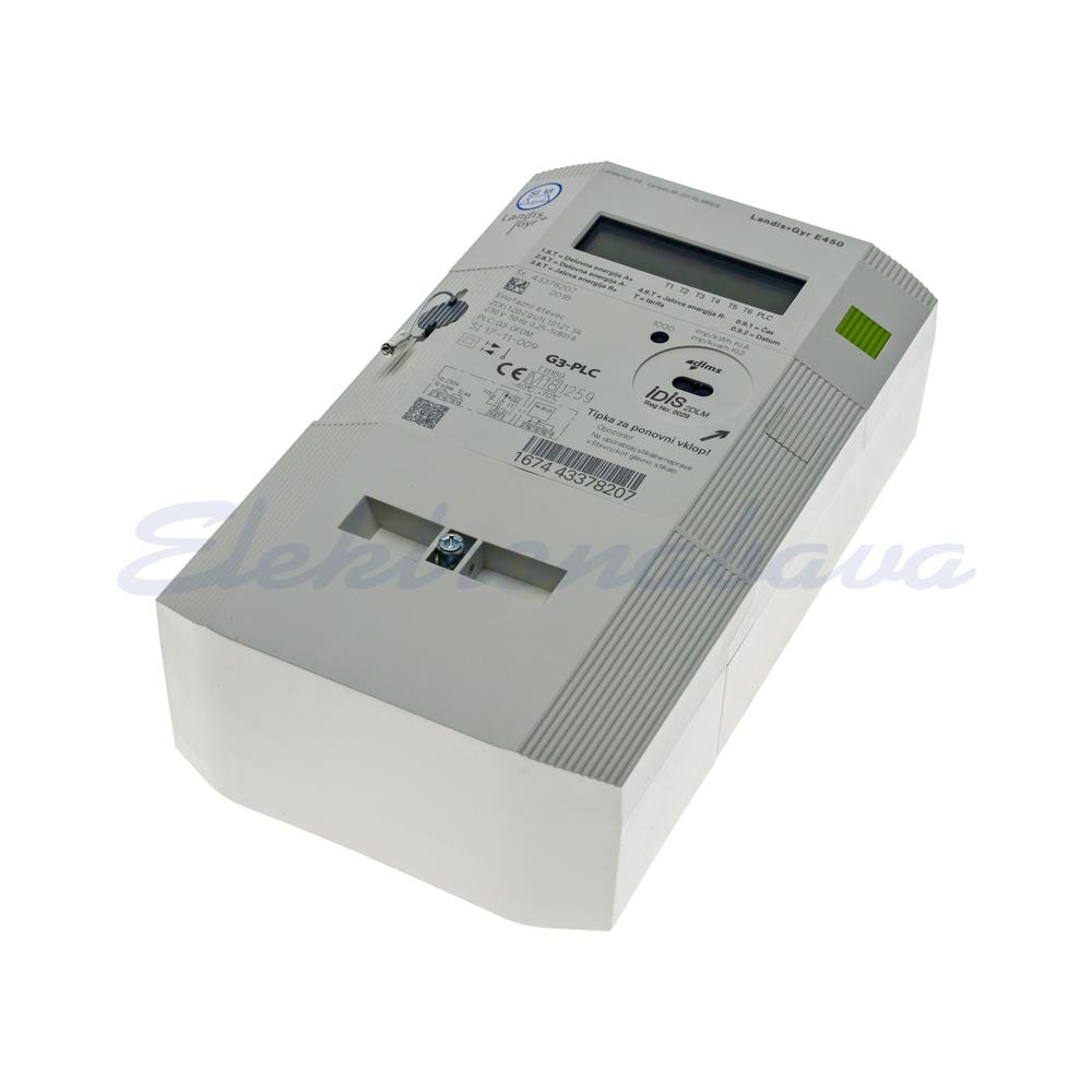 Slika izdelkaŠtevec električne energije ZCXi120CQU1L1D1.21S4 + G3-PLC L-N (1F) 2TAR. Z odklopnikom 230V 85A