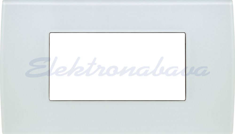Slika izdelkaOkrasni okvir PURE Unipack 4M BE HOR Steklo
