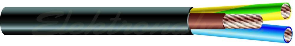 Slika izdelkaGumijasti kabel H05RR -F 3X0,75mm2 100 m