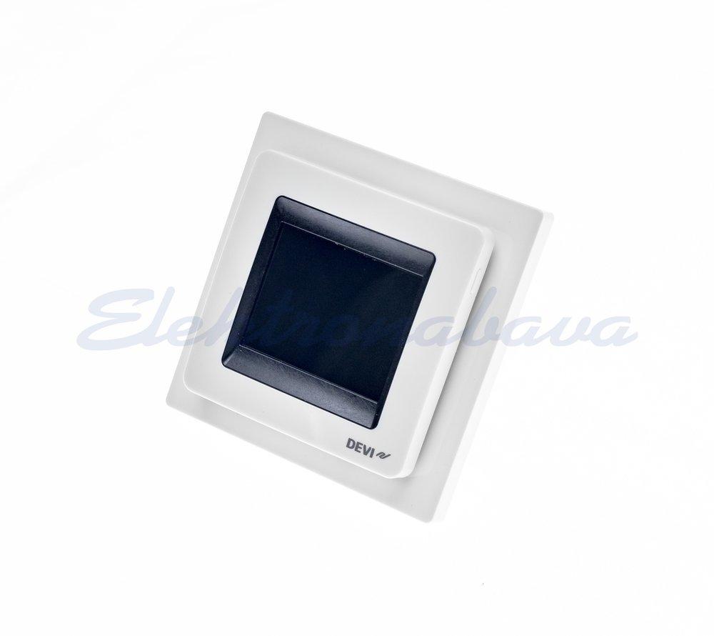 Slika izdelkaSobni termostat DEVIreg Touch P/O digitalni BE s talnim tipalom