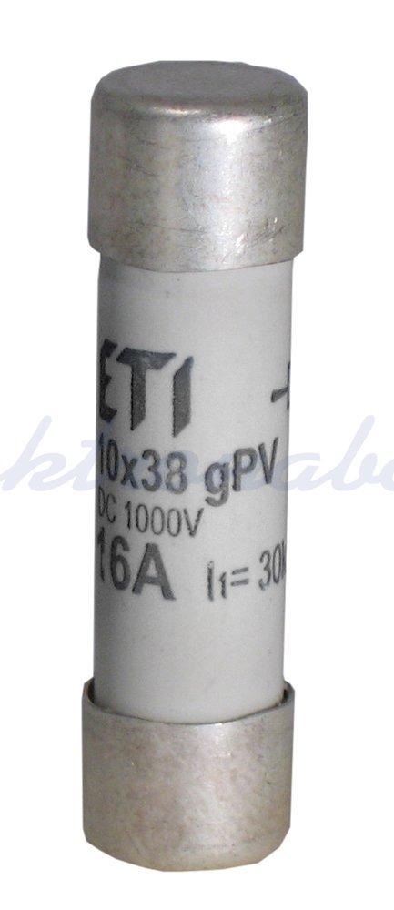 Slika izdelkaTalilni vložek C PV 10x38 mm 16A gPV 1000V DC