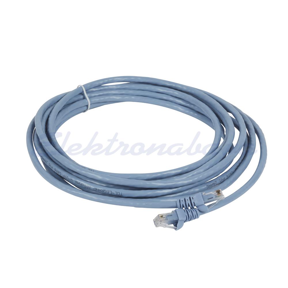Slika izdelkaPriključni kabel LINKEO U/UTP Cat.6 2m Cu, moder, PVC