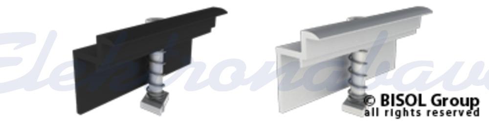 Slika izdelkaPribor za solarno konstrukcijo BISOL EasyMount končna spojka 35mm ČR, sestavljena