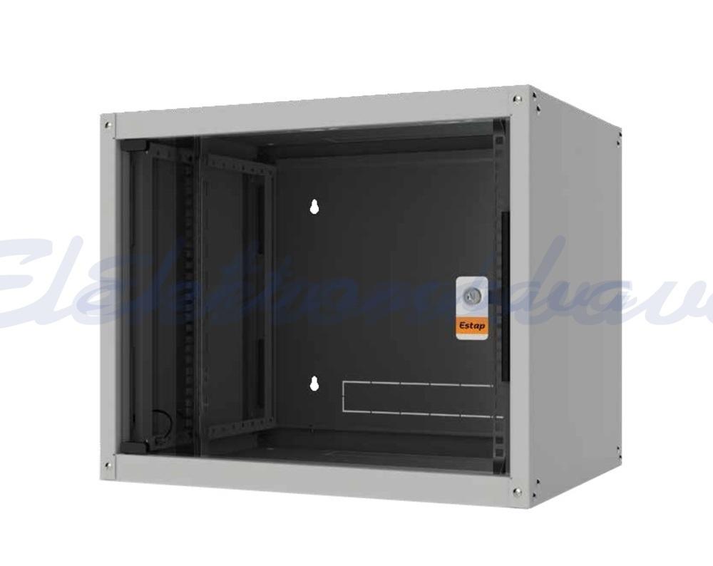 """Slika izdelkaTelekomunikacijska omara EVOLINE EVO 9U 19"""" 600X450 65 kg"""