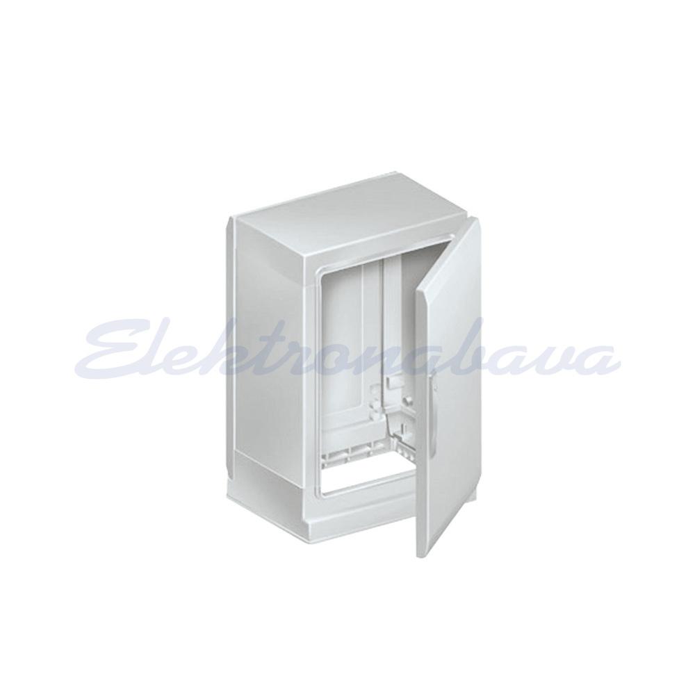 Slika izdelkaStikalna elektro omara E THALASSA PLA PS 750mm 500mm 320mm Poliester brez montažne plošče 1vrata IP54 RAL7035