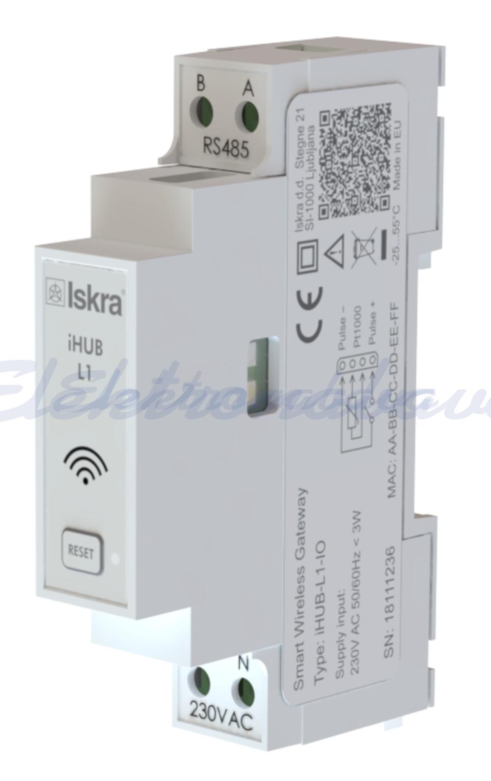 Slika izdelkaPribor za nadzorni sistem ISKRA WI-FI vmesnik, IR, RS485