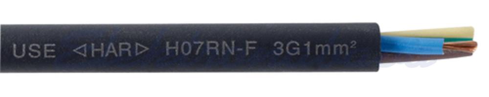 Slika izdelkaGumijasti kabel H07RN-F 3G1,5mm2 ČR