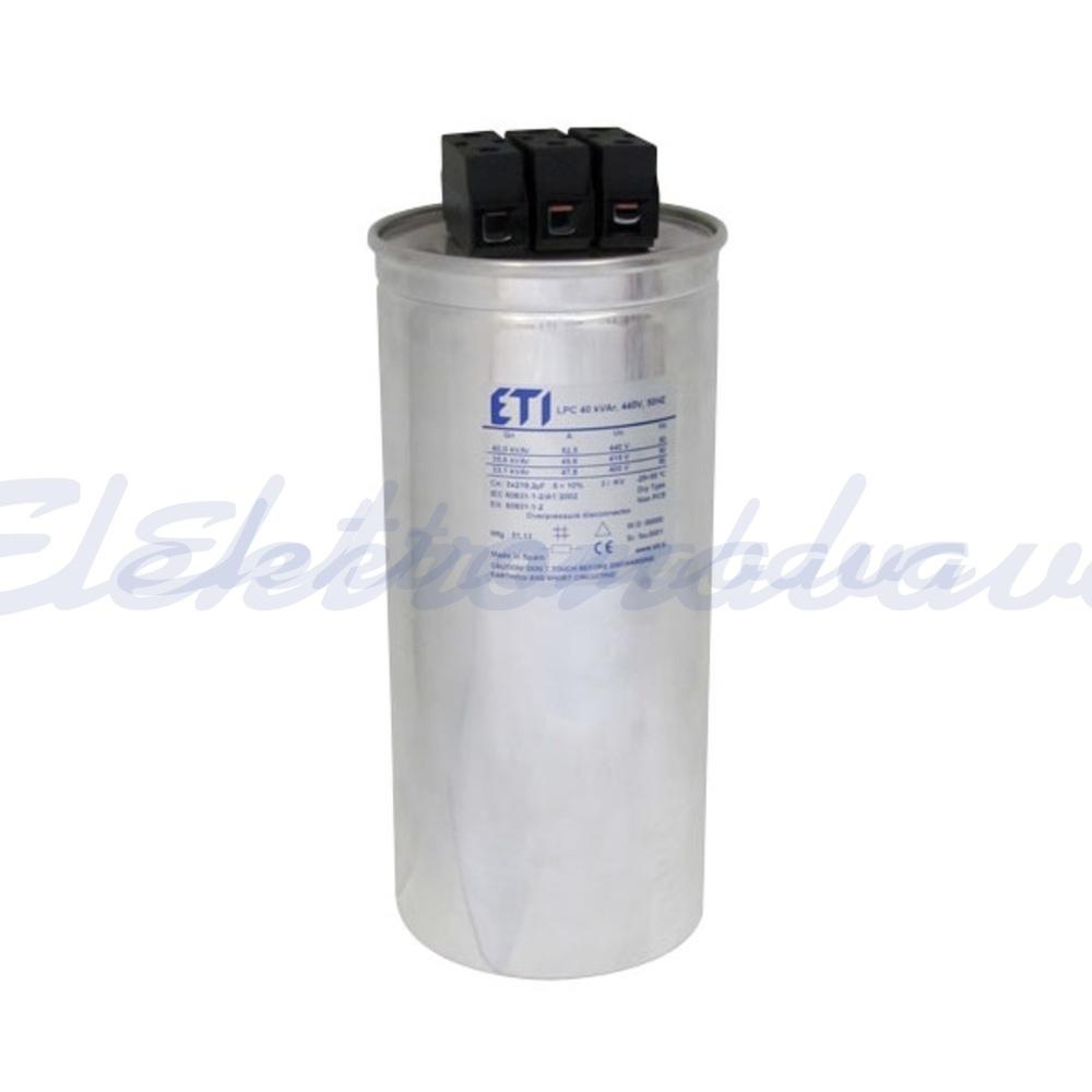 Slika izdelkaEnergetski kondenzator LPC 30kVar 480V 50Hz 3F