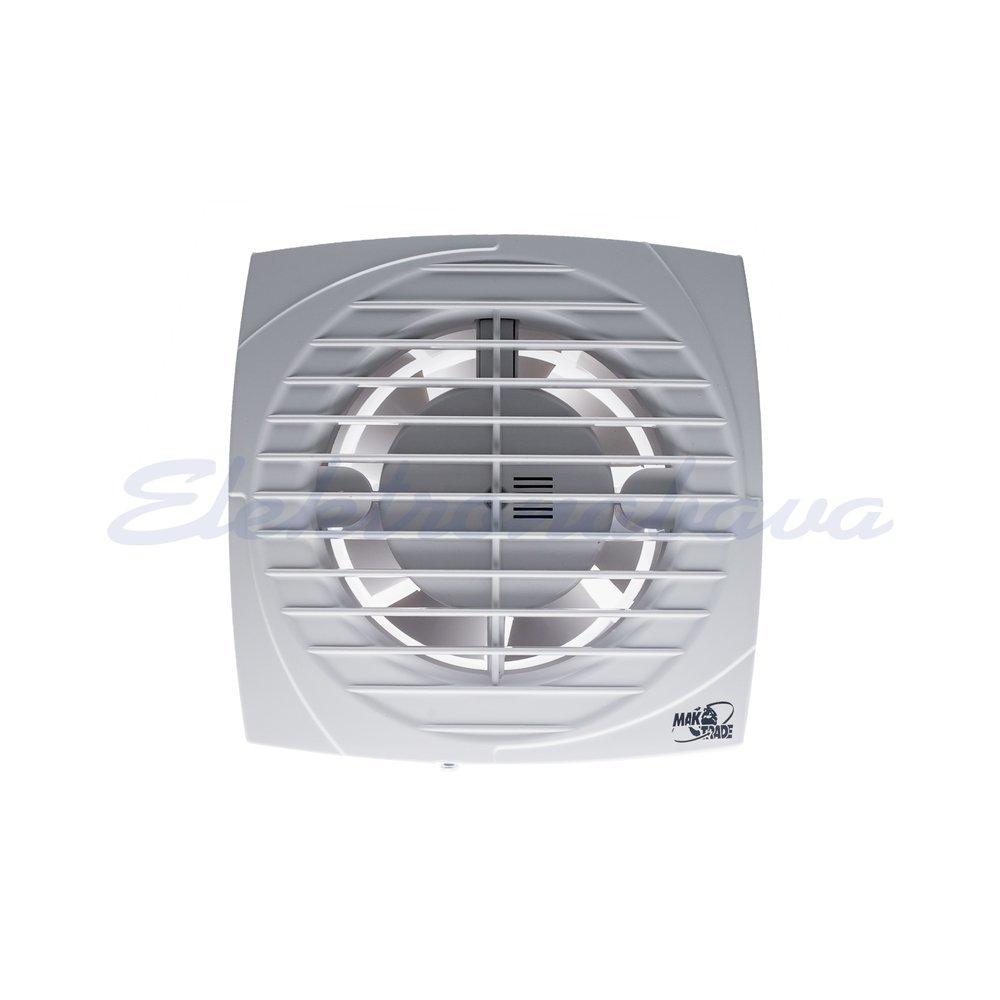 Stanovanjski ventilator MTG standard fi100mm 230V BE IPX4 PVC 98m3/h