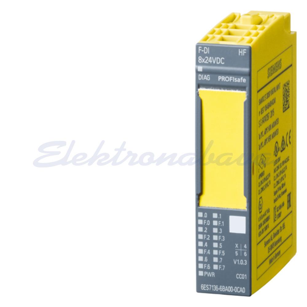 Slika izdelkaDP krmilnik - digitalni modul SIMATIC ET-200 8DI varnostni