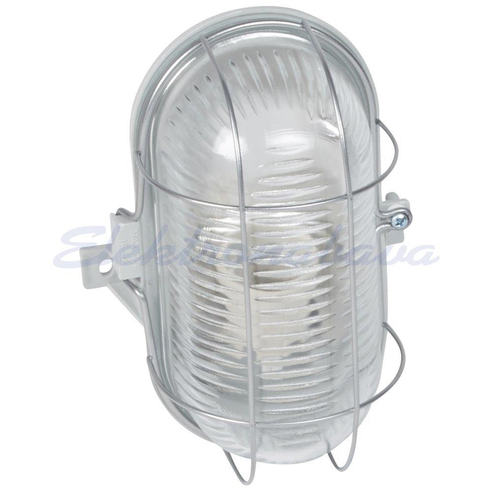 Slika izdelkaLadijska svetilka LEGRAND UNILUX ovalna 100W E27 SI IP44