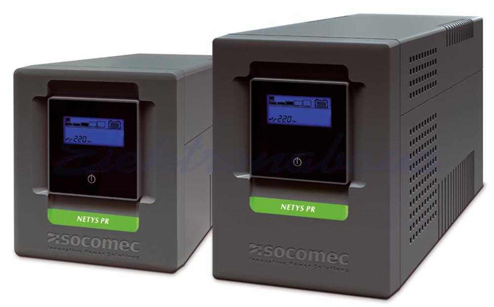Slika izdelkaNapajalniki UPS Netys PR MT 1500VA / 1050W 230V Line-interaktivni sinusni USB 145mm 390mm 205mm 6xIEC