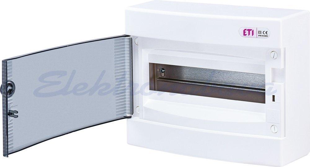 Slika izdelkaStanovanjska omarica DIDO N/O BE /PROZ 1vrst 12M 287mm 236mm 112mm IP40