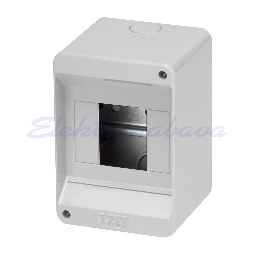 Slika izdelkaStanovanjska omarica GEWISS 40DC N/O SI 1vrst 4M 90mm 130mm 85mm IP40