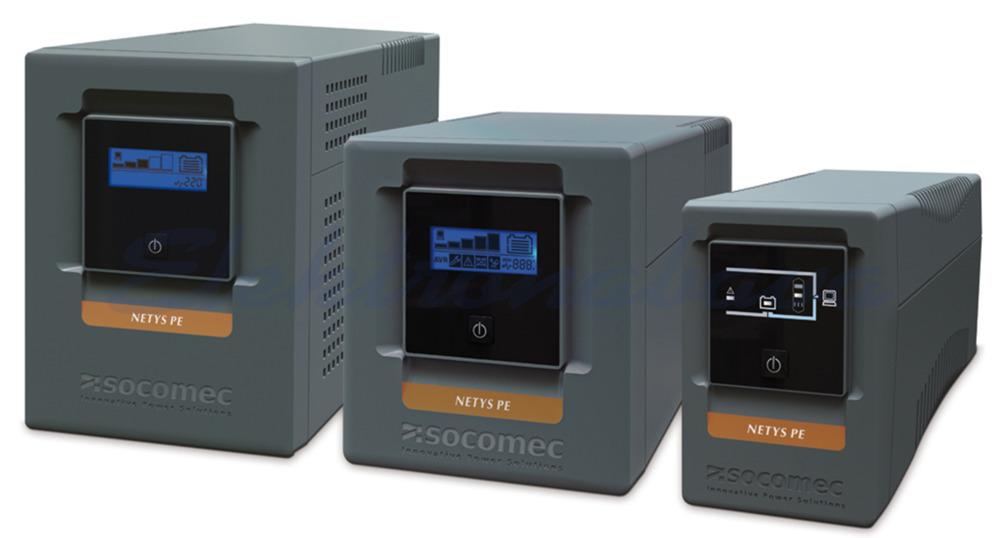 Slika izdelkaNapajalniki UPS Netys PE 2000VA / 1200W 230V Line-interaktivni USB 145mm 390mm 205mm 6xIEC