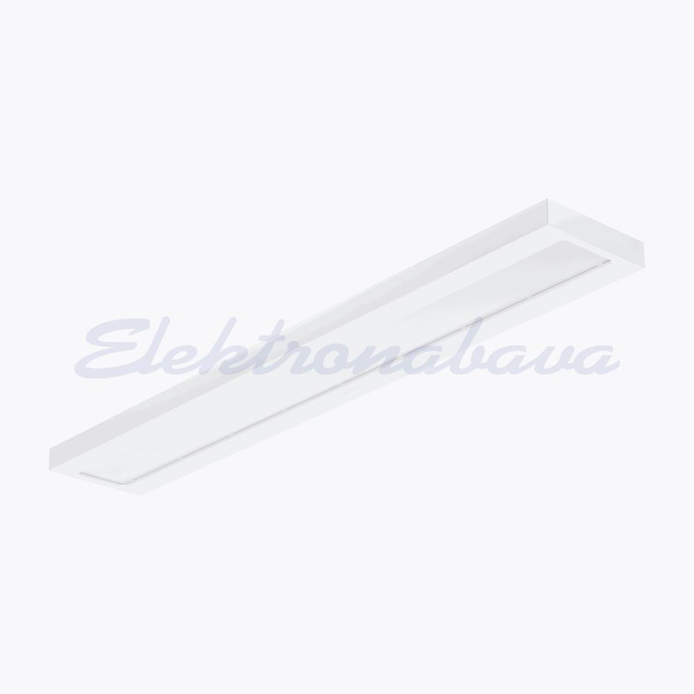 Slika izdelkaNadgradna svetilka LEDINAIRE SM060C LED34S/840 PSU W20L120 NOC LED 34W 4000K 3400lm brez zatemnitve LED driver BE pravokotno 1200x200mm IP20 220-240V A-A++