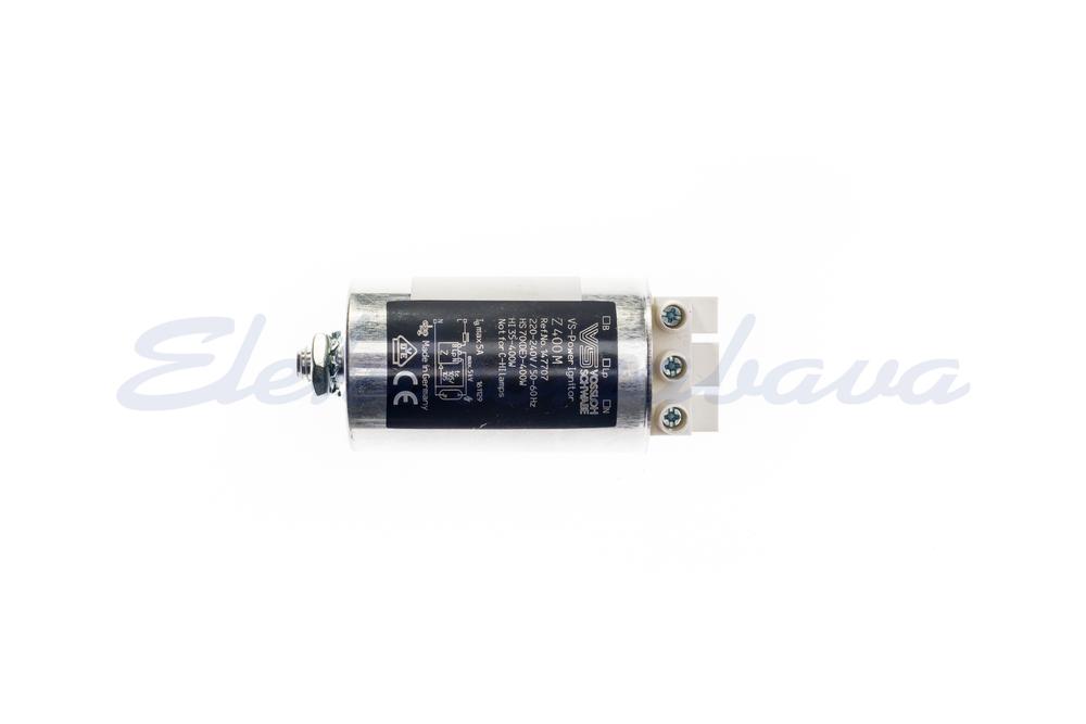 Slika izdelkaVžigna naprava/ignitor (HID) VOSSLOCH Z 400 M okrogla 35-400W 230V