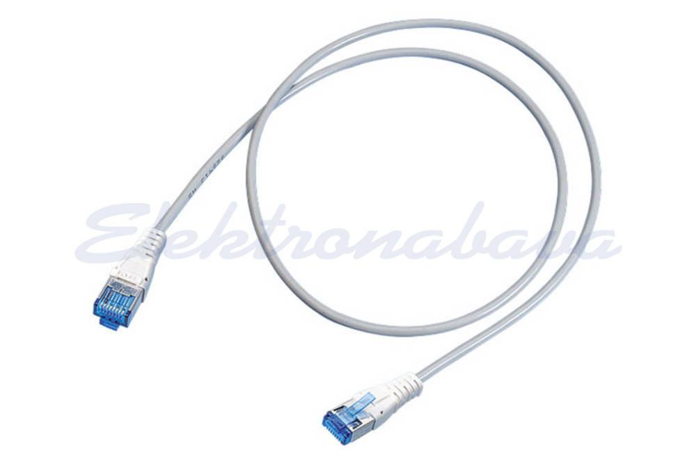 Slika izdelkaPriključni kabel R&M S/FTP Cat.6 1,5m Cu, siv, LSFRZH