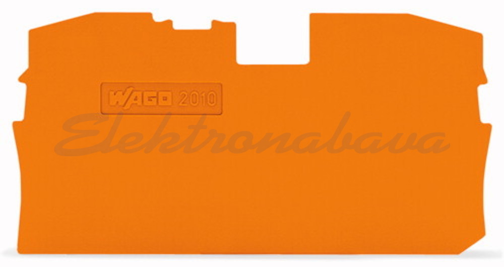 Slika izdelkaKončna in vmesna ploščica WAGO TOPJOB za 10mm2 OR 1mm