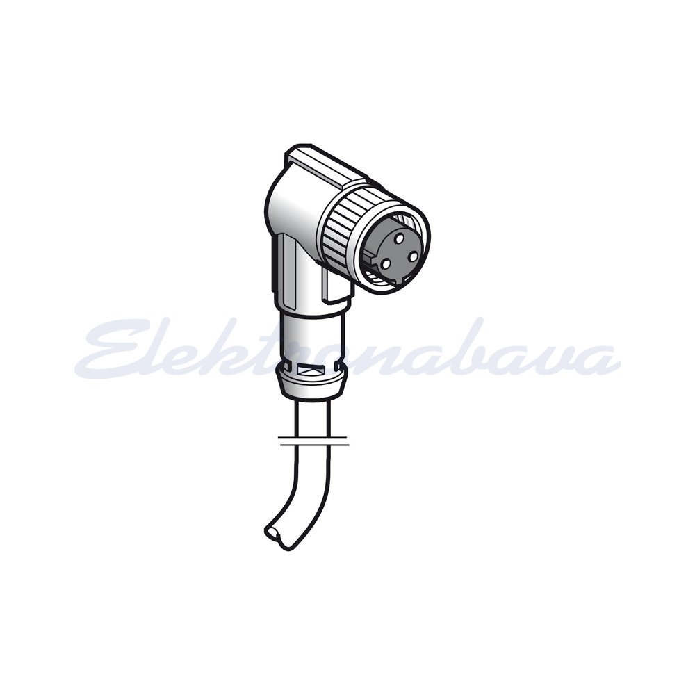 Slika izdelkaStik./tipalo - konektor+kabel SCHNEIDER 3P Ž Kotni 5m PUR