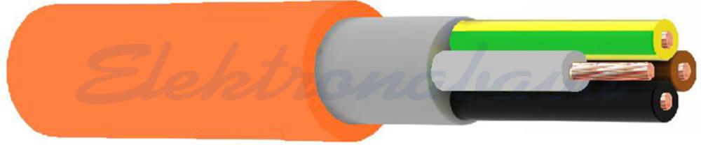 Slika izdelkaOgnjeodporni energetski kabel (N)HXH-J 3X1,5mm2 FE 180 E90 OR