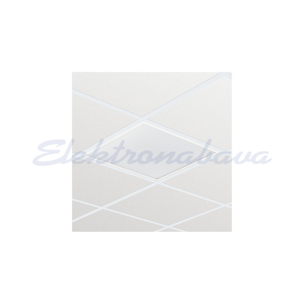 Vgradni panel LED LEDINAIRE RC065B LED34S/840 PSU W60L60 OC za armstrong + driver LED 38W 4000K 3400lm BE Kvadratni 597x597mm IP20 220-240V UGR<19
