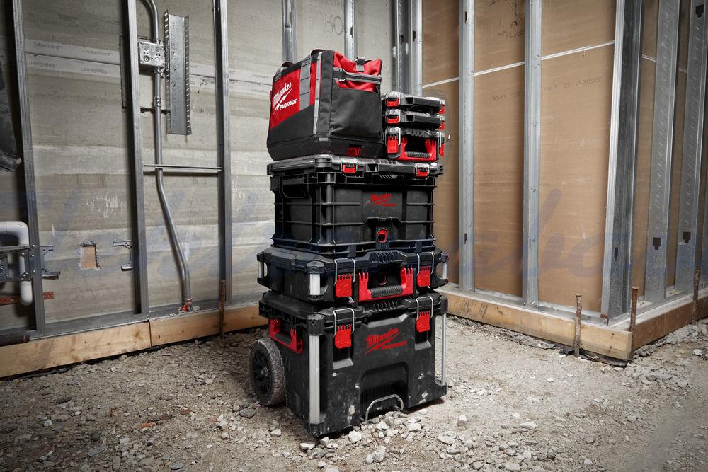 Orodje, shranjevanje MILWAUKEE Zabojnik PACKOUT Crate Nosilnost 22 kg 450mm 390mm 250mm