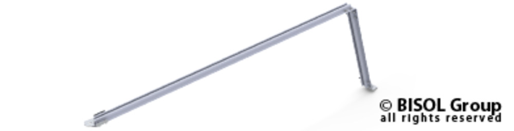 Slika izdelkaProfil za solarno konstrukcijo BISOL EasyMount ALU Base 125 12,5° A-nosilec