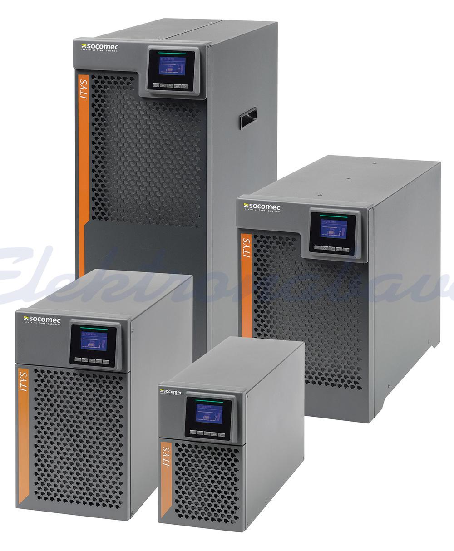 Slika izdelkaNapajalniki UPS ITyS 10kVA / 10kW 230V Online RS232 225mm 416mm 589mm