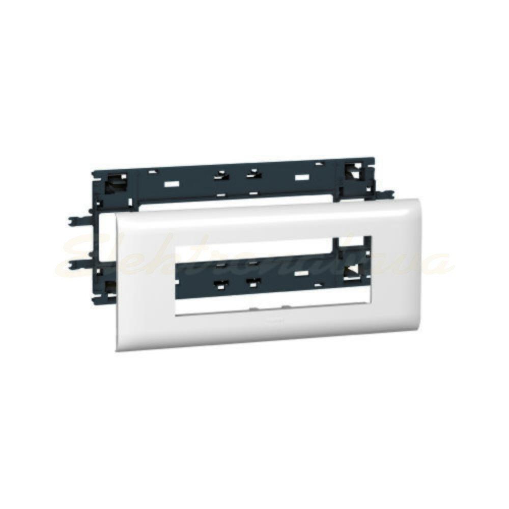 Slika izdelkaOkvir vtičnice za parapetni MOSAIC 6M DLP 85mm PVC BE