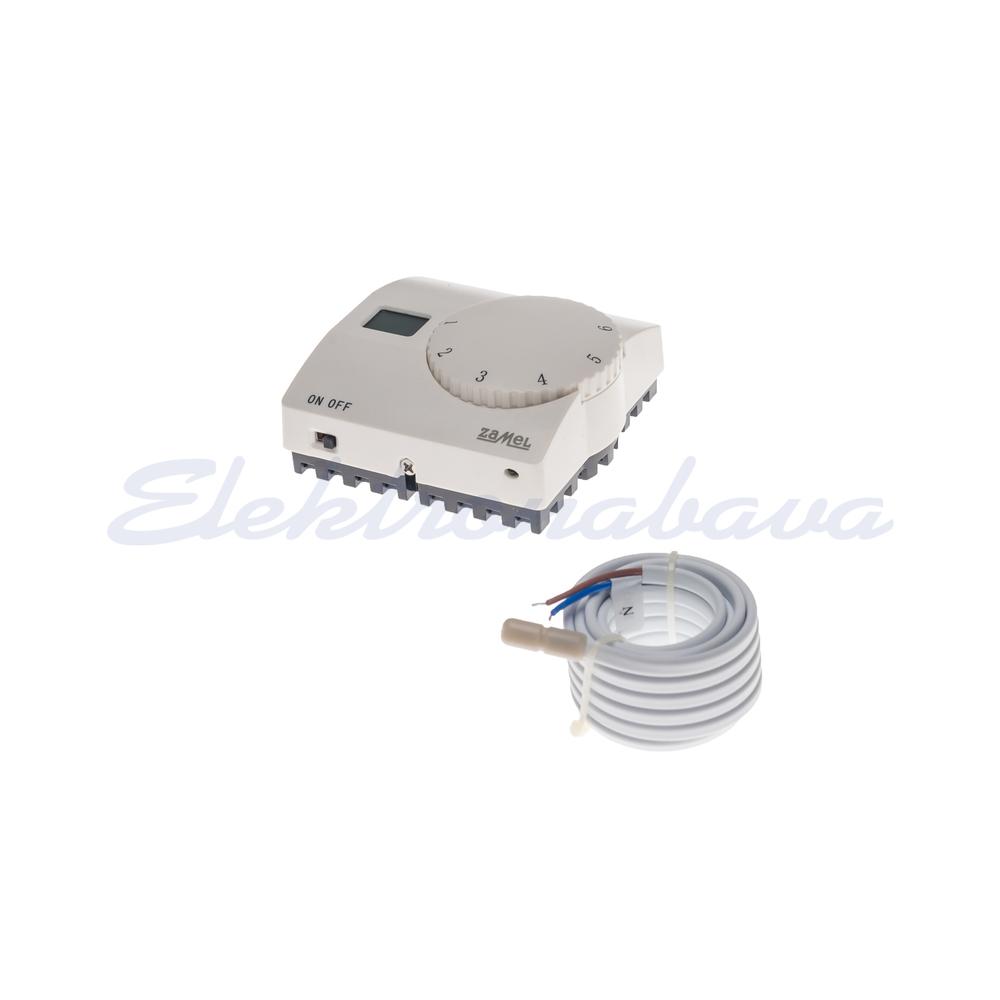 Sobni termostat MATEC s talnim tipalom N/O analogni 5-40ST.C