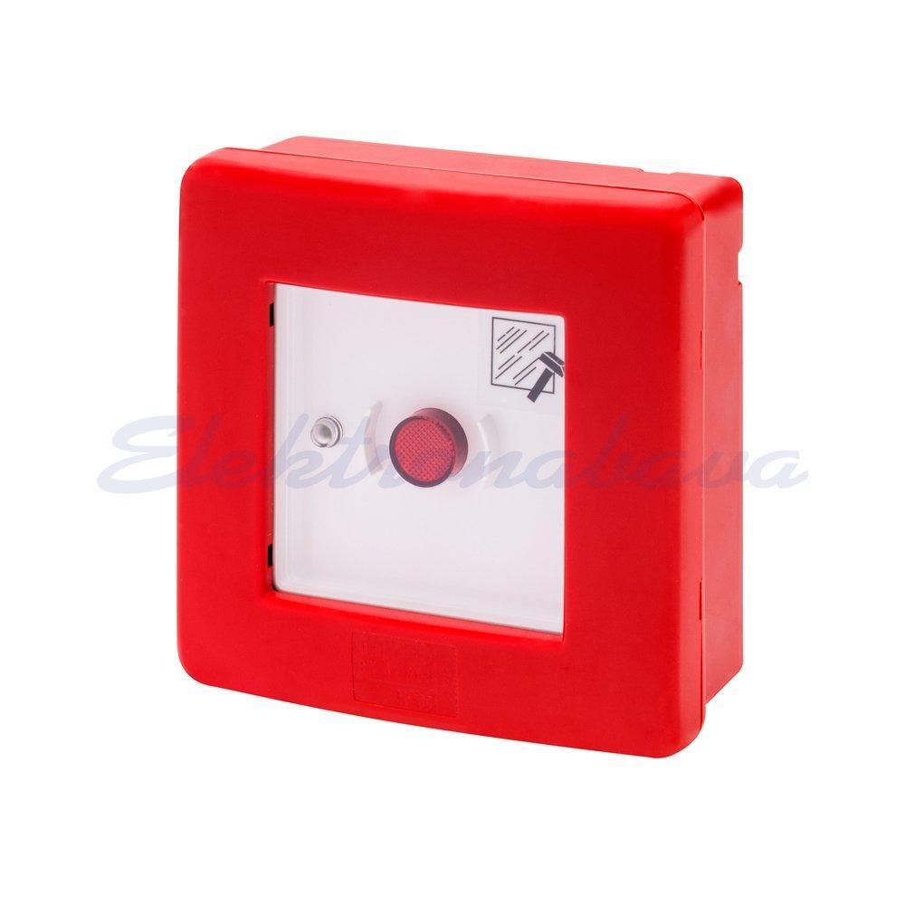 Slika izdelkaStikalo za javljanje požara GEWISS 42 RV 120x120x50mm 10A/240V PVC