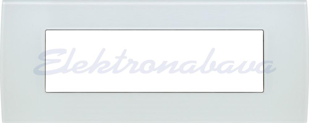 Slika izdelkaOkrasni okvir PURE Unipack 7M BE HOR Steklo