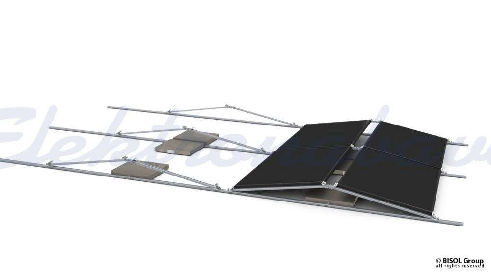 Pribor za solarno konstrukcijo BISOL EasyMount ALU Base samorezni vijak s tesnilom 5,5x25mm