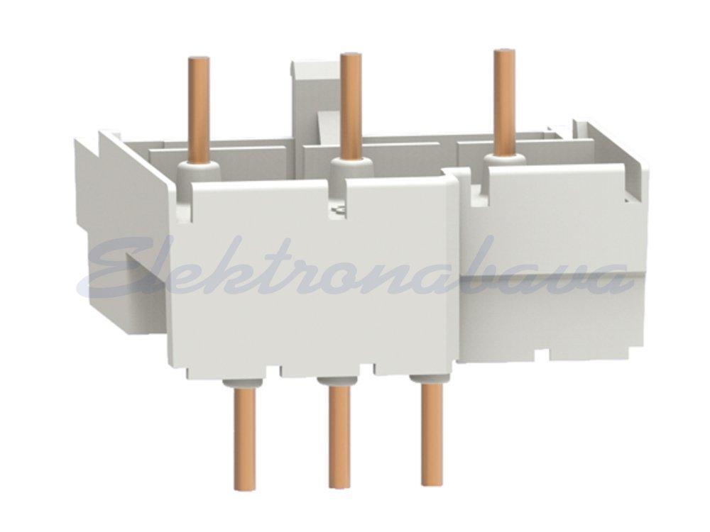 Slika izdelkaKomplet ožičenja za kontaktor LOVATO SM1 za povezavo SM1R + BG (AC in DC) DOL 3P