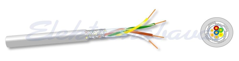 Slika izdelkaKontrolni kabel LIYCY 2X0,25mm2 Eca