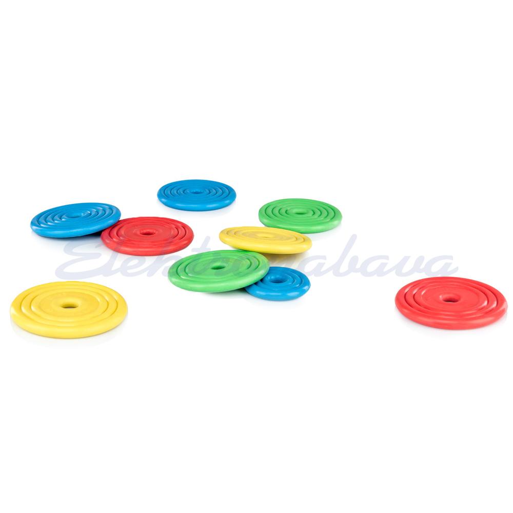 FLINGER Gumijasti ploščki za prstomet