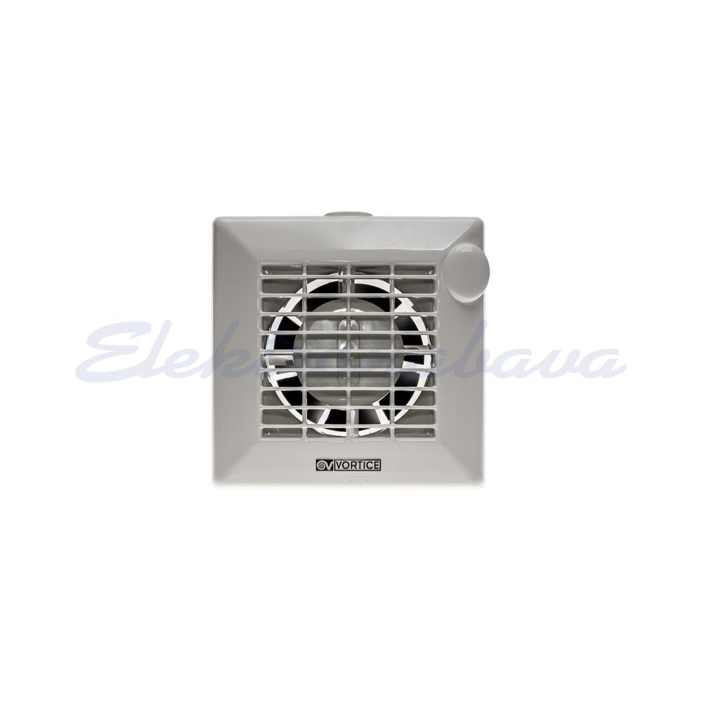 Ventilator za stan VORTICE standard fi100mm 230V Bijela IPX4 Plastika 90m3/h