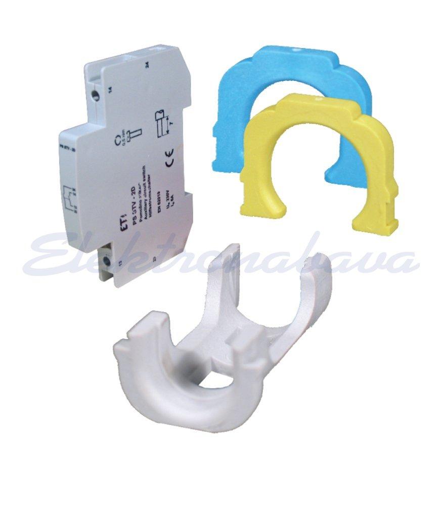 Slika proizvodaPostolje osigurača D0 STV D02 adapter za D01 6A Zelena