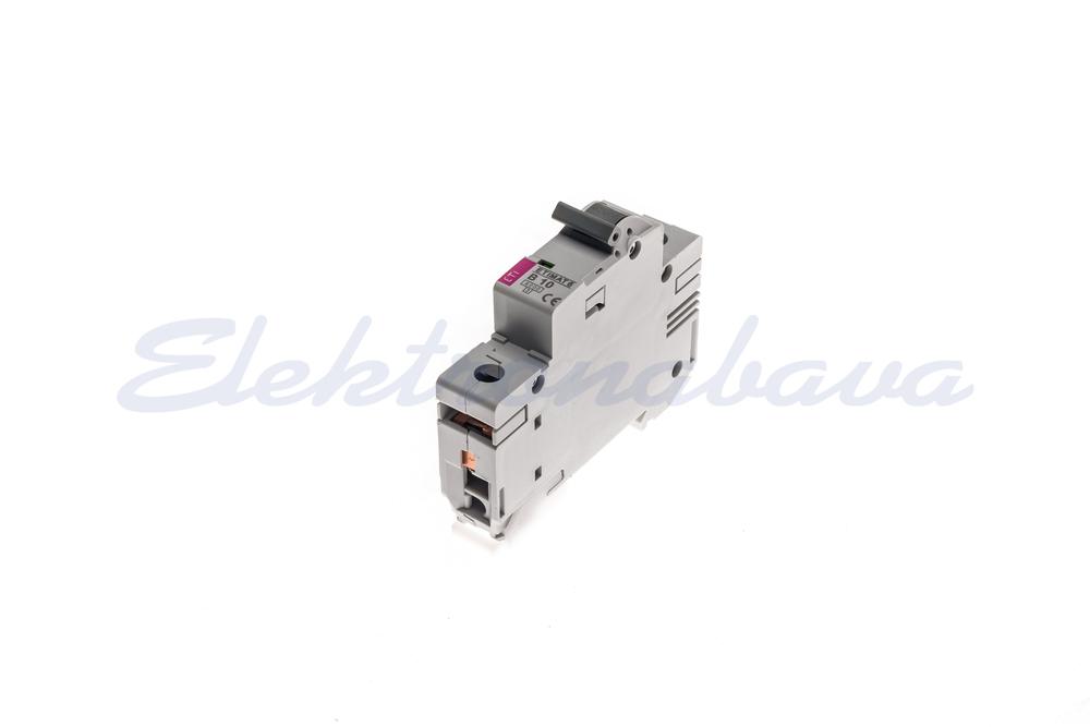 Slika proizvodaAutomatski osigurač ASTI ETIMAT 6 6kA B 10A 1P