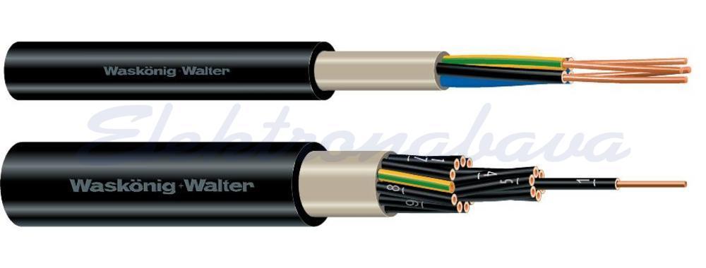 Slika proizvodaNN kabel NYY -J 5X2,5mm2 RE Crna Eca