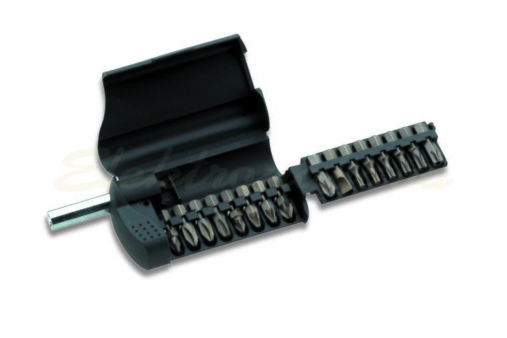 Slika proizvodaRučni alat, pribor Cimco nastavci BIT-BOX SET 17-dijelni