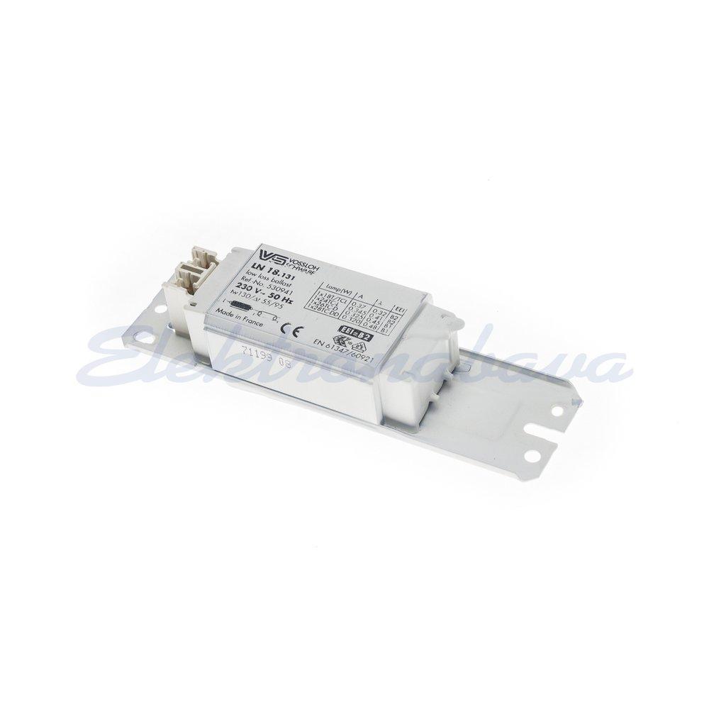 Slika proizvodaKlasična prigušnica - fluo VOSSLOCH LN 18.131 1x za svjetilkeTC-D 18W 230V